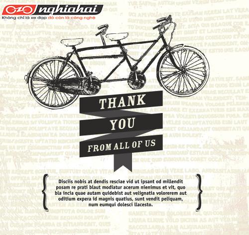 Lòng biết ơn đối với xe đạp 2