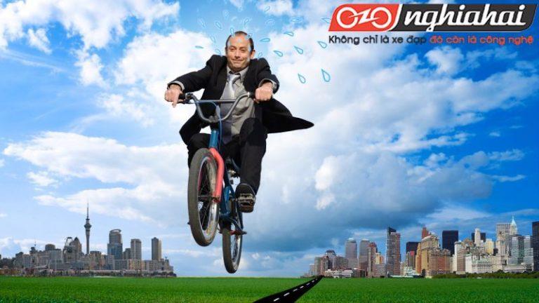 Đạp xe đi làm để tăng tốc độ 5