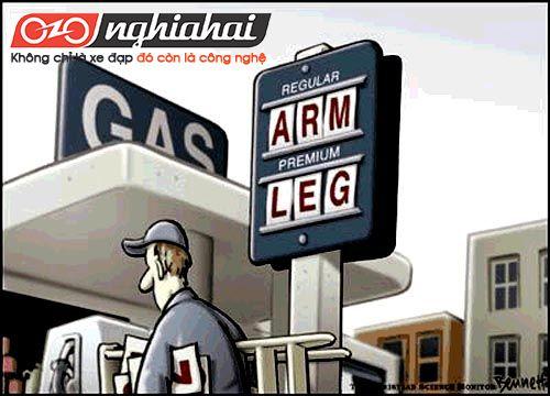 Giá xăng tăng ảnh hưởng đến cuộc sống người dân 1