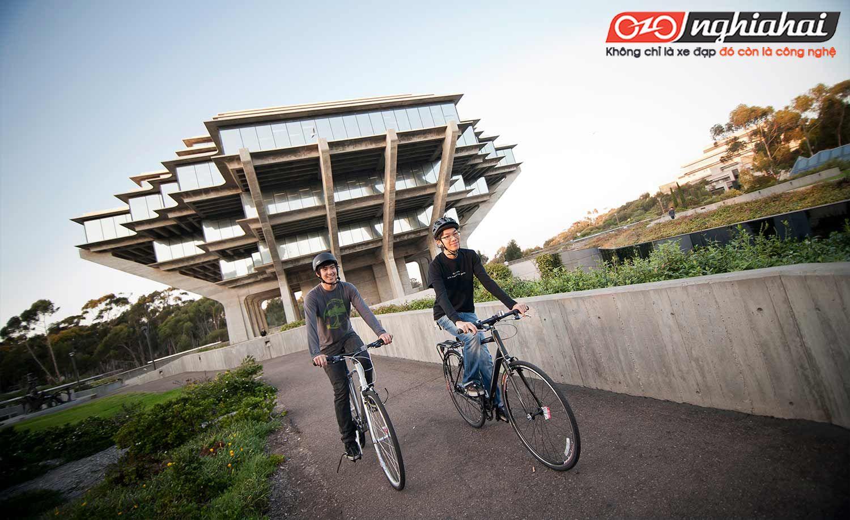 Xây dựng khuôn viên thân thiện với xe đạp 1