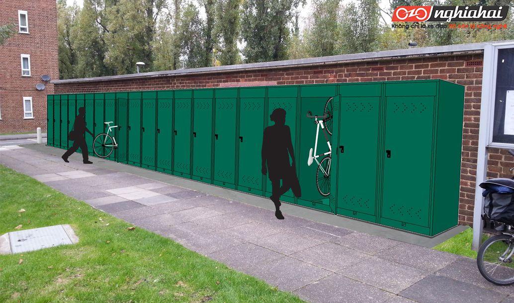 Xây dựng khuôn viên thân thiện với xe đạp 3