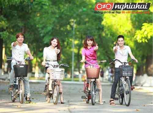 Xe đạp điện NISHIKI thời trang hấp dẫn giới trẻ2