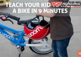Làm thế nào để dạy con đạp xe đạp chỉ trong 9 phút?3