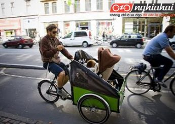 Xe đạp chở hàng – cách tuyệt vời để đạp xe với em bé3