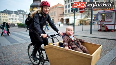 Xe đạp chở hàng – cách tuyệt vời để đạp xe với em bé2