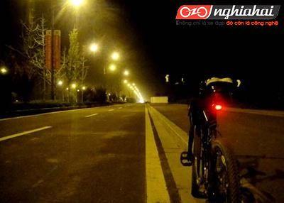 Những chú ý khi đạp xe vào buổi tối 1