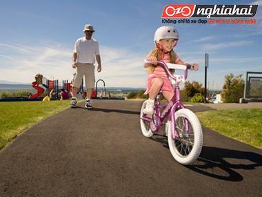 Giới thiệu tổng thể xe đạp trẻ em Goodbaby2