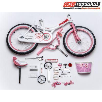 Đánh giá xe đạp Royalbaby Jenny Princess Pink Girls