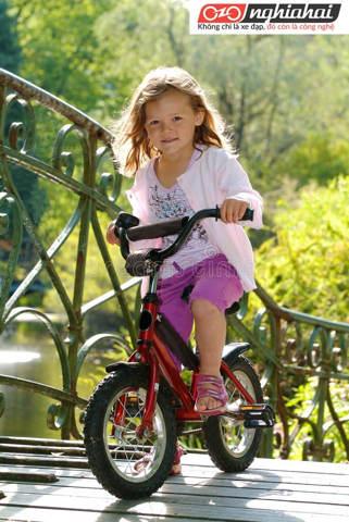 Lưu ý khi đi xe đạp trẻ em. Kinh nghiệm đi xe đạp trẻ em 3