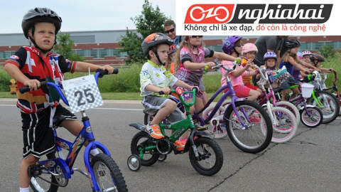 Lợi ích của xe đạp trẻ em. Chọn mua xe đạp trẻ em 3