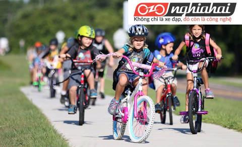 Xe đạp trẻ em ba bánh, Cách dậy trẻ em tập đi xe đạp 1