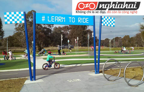 Chuẩn bị cho bé tập đi xe đạp trẻ em 3