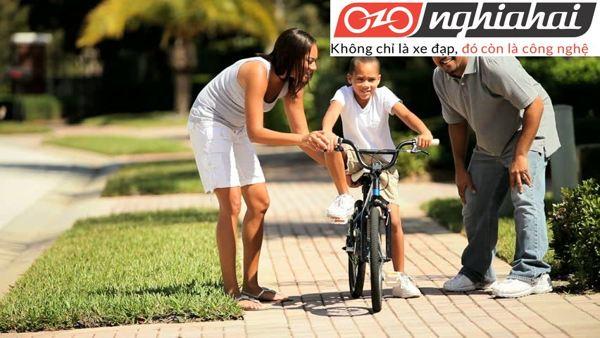 Các bước kiểm tra xe đạp trẻ em 1