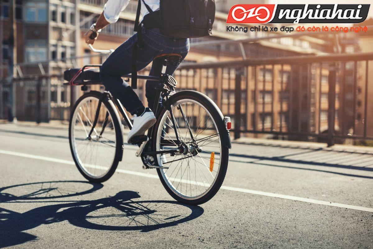 Đạp xe đi làm để tăng tốc độ 1