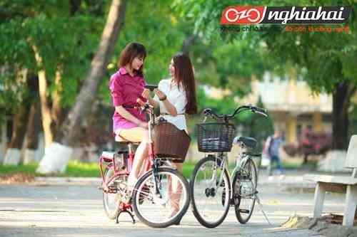 Xe đạp điện NISHIKI thời trang hấp dẫn giới trẻ