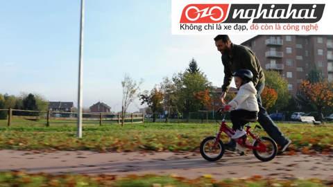 An toàn khi đi xe đạp trẻ em. Lưu ý khi đi xe đạp trẻ em 1