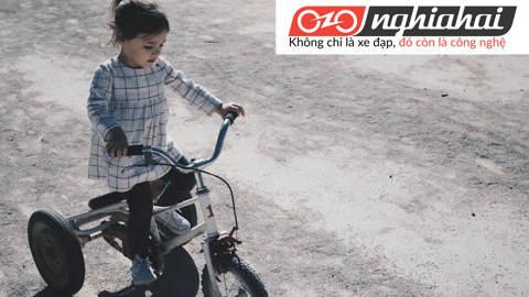 An toàn khi đi xe đạp trẻ em. Lưu ý khi đi xe đạp trẻ em 2