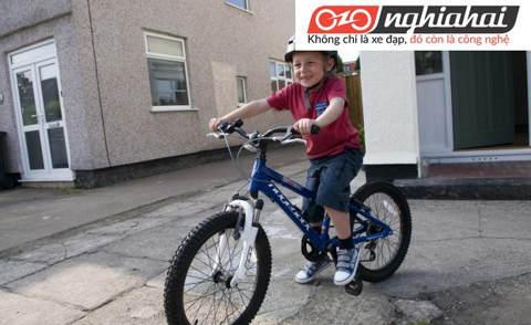 Xe đạp trẻ em ba bánh, Cách dậy trẻ em tập đi xe đạp 2