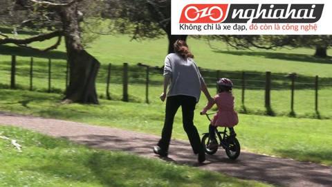 Địa điểm tập xe đạp trẻ em. Cách cho trẻ tập xe đạp trẻ em 2