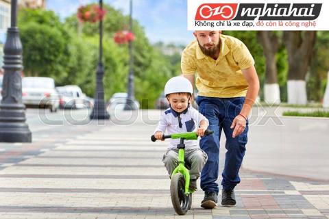 Địa điểm tập xe đạp trẻ em. Cách cho trẻ tập xe đạp trẻ em 3