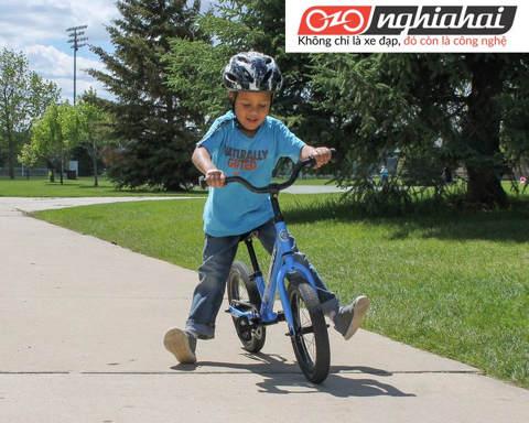 Chuẩn bị cho bé tập đi xe đạp trẻ em 1