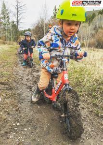 Làm sạch xe đạp trẻ em như thế nào 2