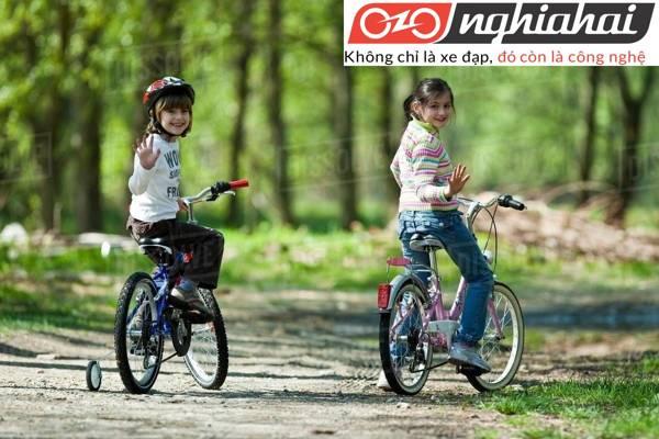 Cách để trẻ đạp xe đạp trẻ em dễ đàng 2