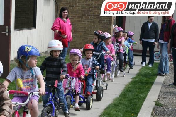 Hướng dẫn dùng bộ chuyển động tay đề xe đạp 3