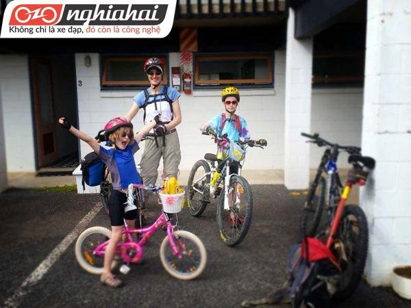 Dạy trẻ đạp xe trong thành phố 3